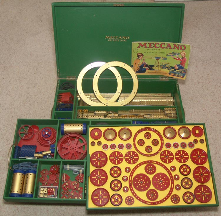 Meccano 1938 number ten