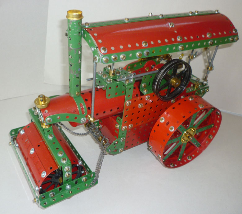 Steam Roller from 1947 Meccano Magazine