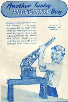 Meccano Magazine  advertisement 1952