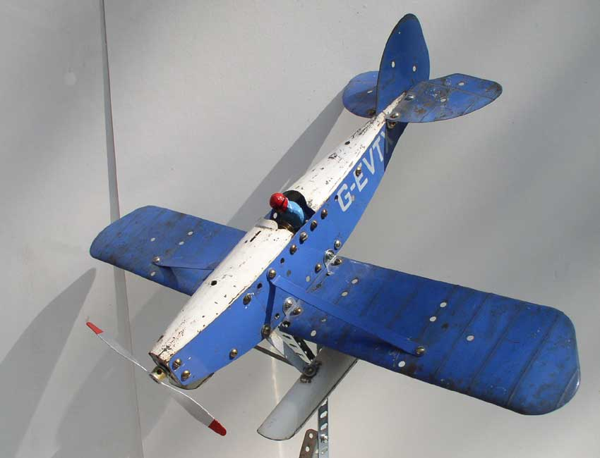 Meccano model page 56 Meccano Aero Constructor Outfits