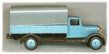 Dinky Toy covered wagon late 1940s
