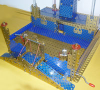 Meccano Foreign Legion Fort