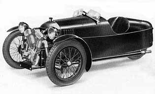 Meccano Model Page 53 Three Wheel Sports Car