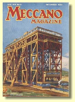 December 1934 Meccano Magazine Cover