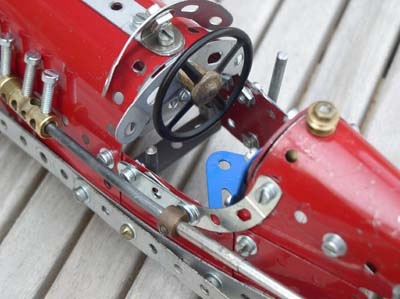 Meccano Model Page Racing Car