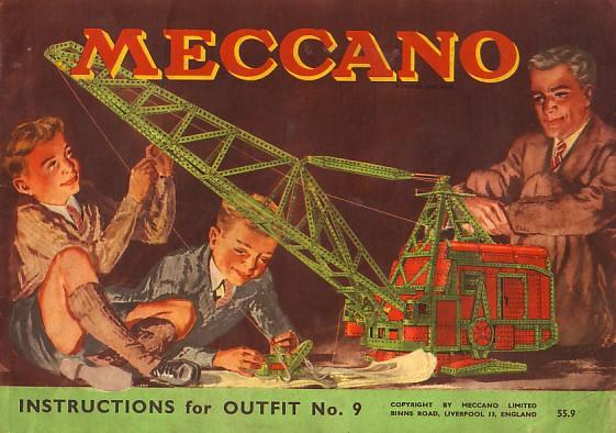 meccano steam engine instructions