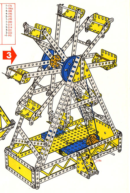 Meccano Model Page 77 1970 Set 6 Big Wheel