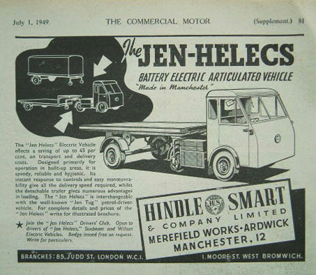 1949 Hindle Smart Ad